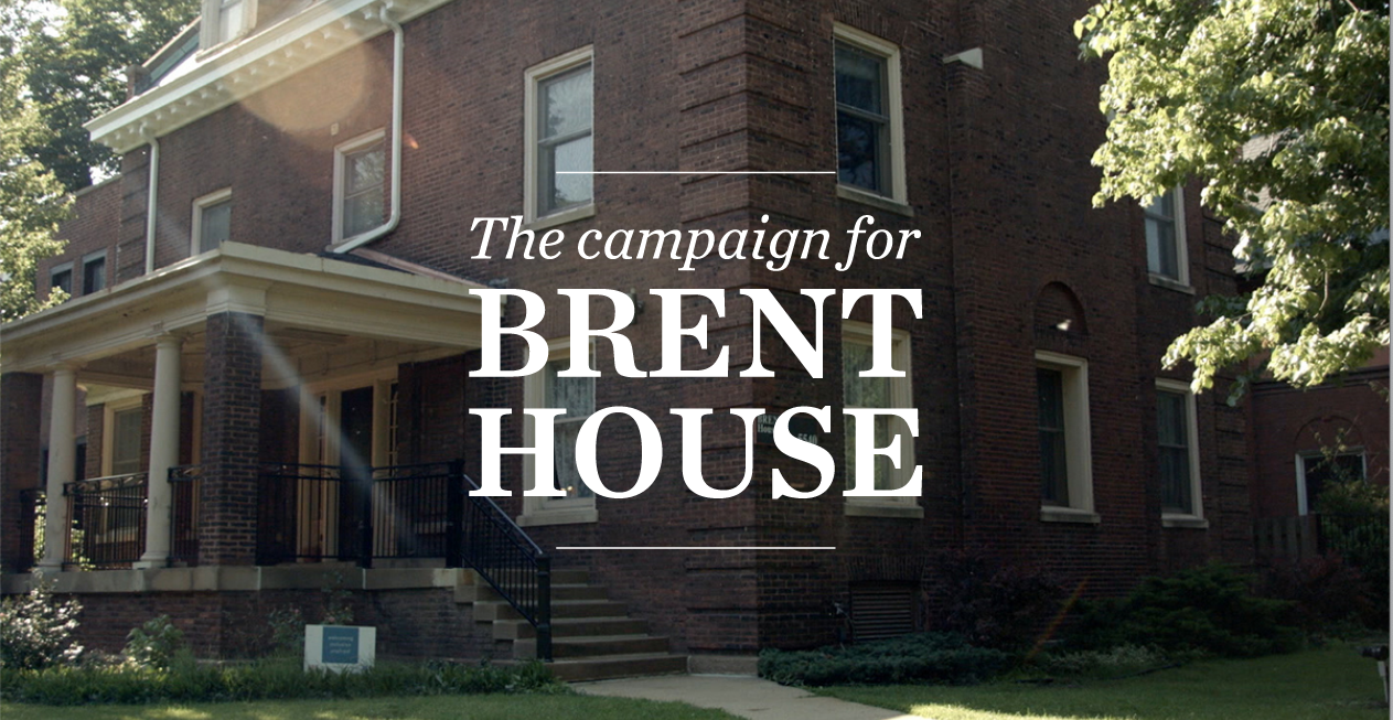 """The Campaign for Brent House"" logo"